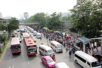 Bangkok Skytrain para Mo Chit Chatuchak Market estação