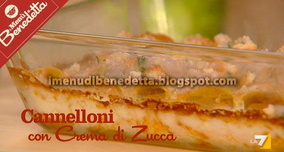 Cannelloni alla Crema di Zucca di Benedetta Parodi