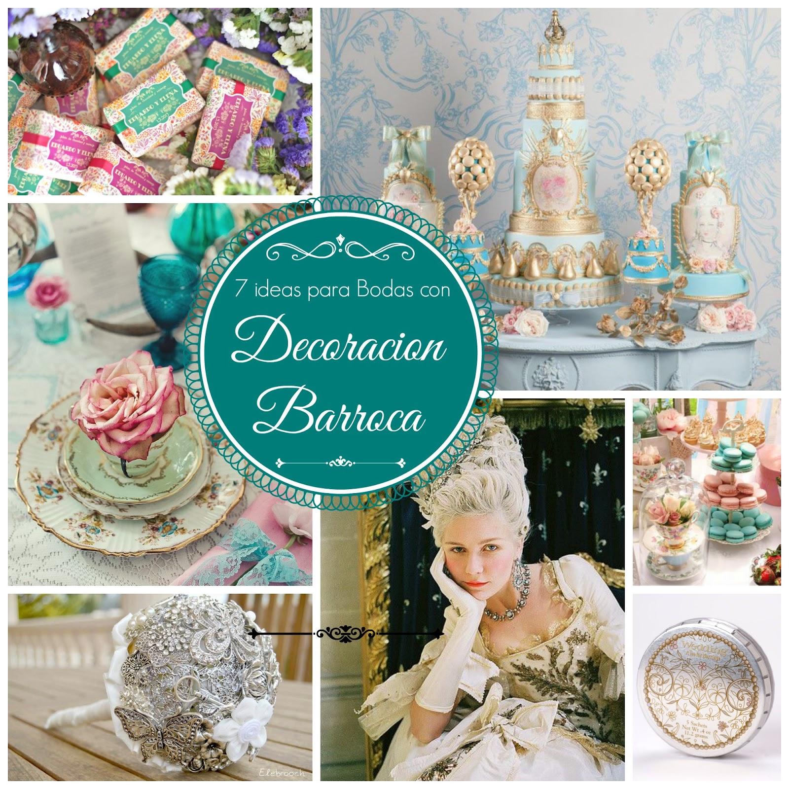 ideas para bodas con decoracion barroca blog bodas mi boda gratis