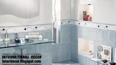 classic wall ceramic tiles design blue bathroom tiles Classic wall tiles designs, colors,schemes bathroom ceramic tiles
