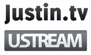 Logos de justin.tv y de ustream.com