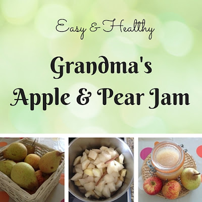 grandma's apple and pear jam, apple and pear jam recipe