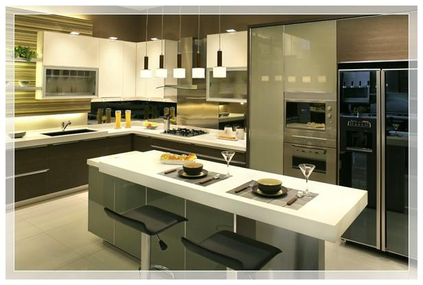 Promo desain interior 3d for Kitchen set mewah