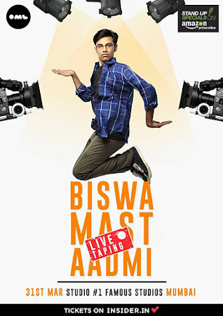 Poster Of Biswa Mast Aadmi By Biswa Kalyan Rath 19th May 2017 300MB Free Download