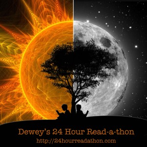 Image: Dewey's 24-Hour Read-a-thon Button