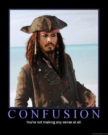 Captain Jack Sparrow Confusion Meme