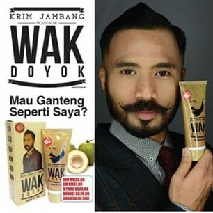 Penumbuh Jenggot Wak Doyok-Untuk anda yang merindukan Tampilan Jantan.