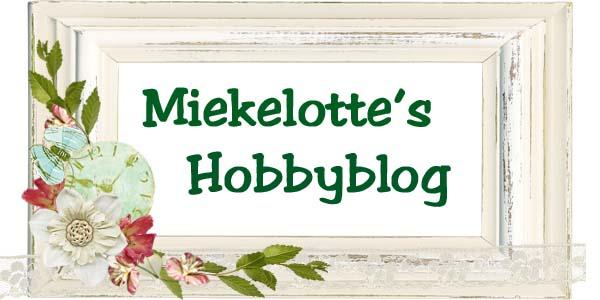 Miekelotte's Hobbyblog