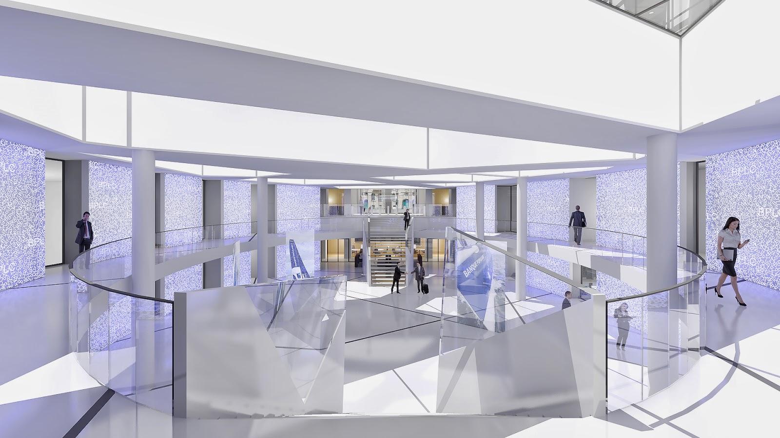 agence d 39 architecture int rieure parallel paris nouveau siege de la bpalc. Black Bedroom Furniture Sets. Home Design Ideas