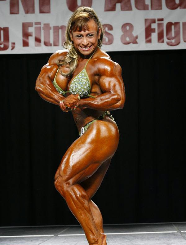 A Good Word To Describe Maria Segura Is Thick This South American Beauty Isnt The Biggest Female Bodybuilder But She Definitely Packs A Huge Amount Of
