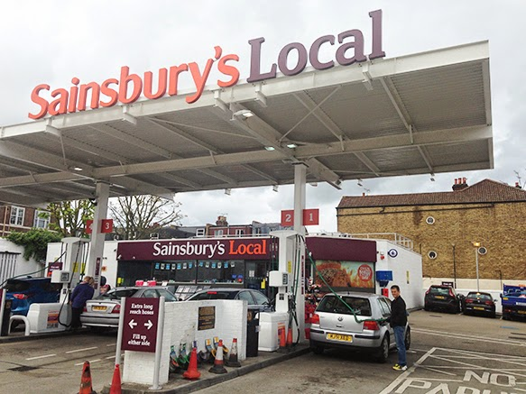 Sainsburyu0027s latest u0027Localu0027 petrol station and convenience store in Putney SW London is notable for us in the petrol retail business for its skeletal single ... & Roadside Retail: Less is more?