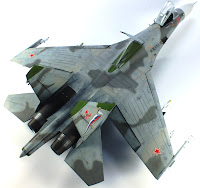 Eth's build of the 1/48th Eduard Su-27