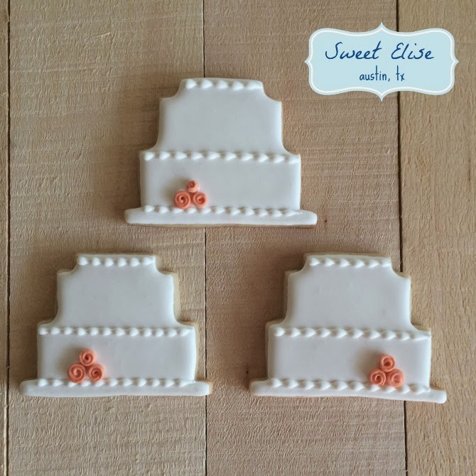 The Holland House: Wedding Cake Cookies
