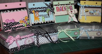 Mini Darling Albums/Scrapbooks