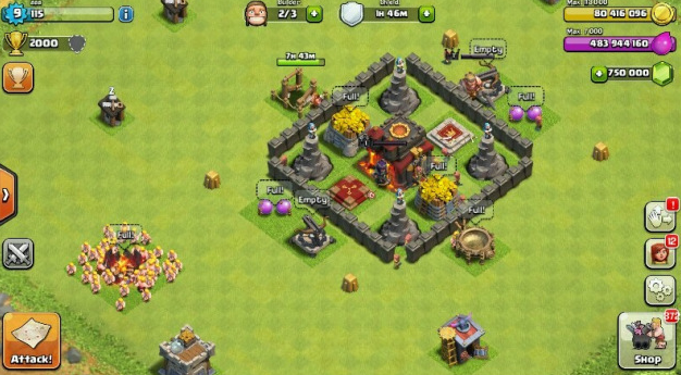 clash of clans unlimited apk android