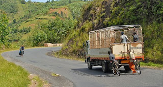 Traveling in Gitega, Burundi photo by Dave Proffer