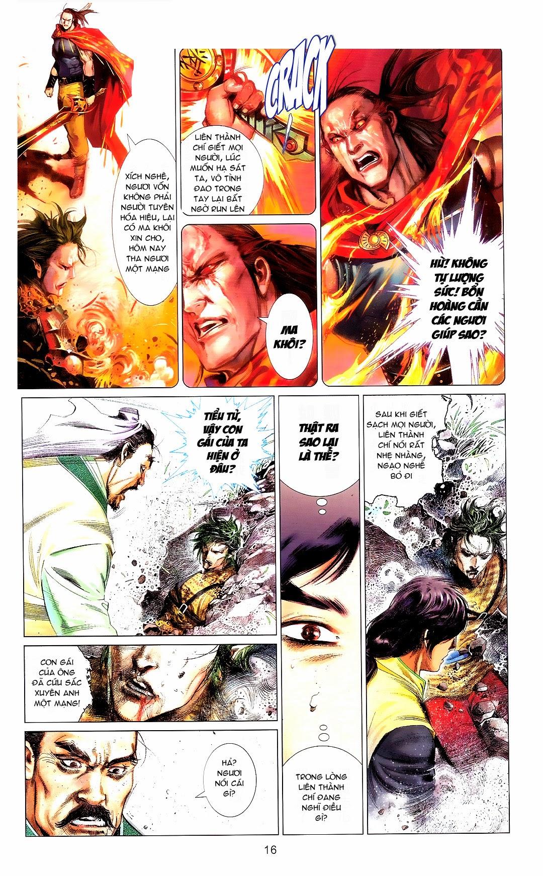 Phong Vân chap 666 Trang 16 - Mangak.info