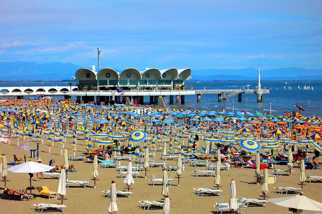 Lignano pláž more dovolenka
