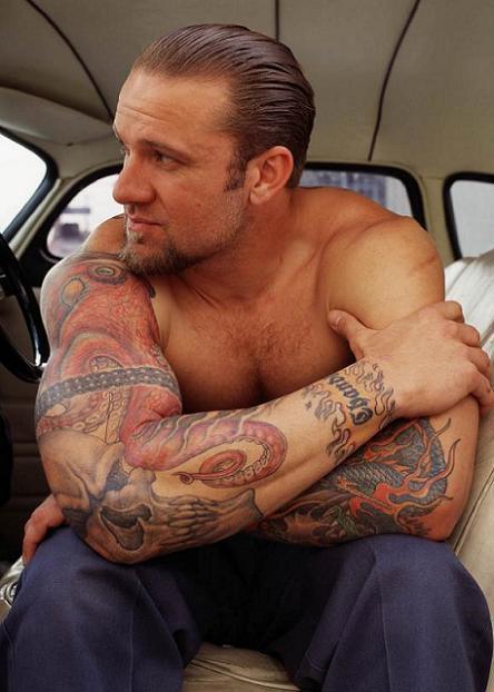 Jesse james tattoos art