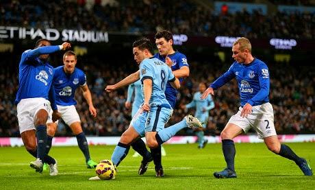 Manchester City Menang Tipis Atas Everton 1-0
