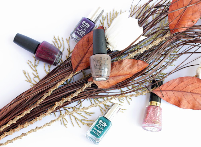 My Favorite Nail Polishes for Fall and Winter
