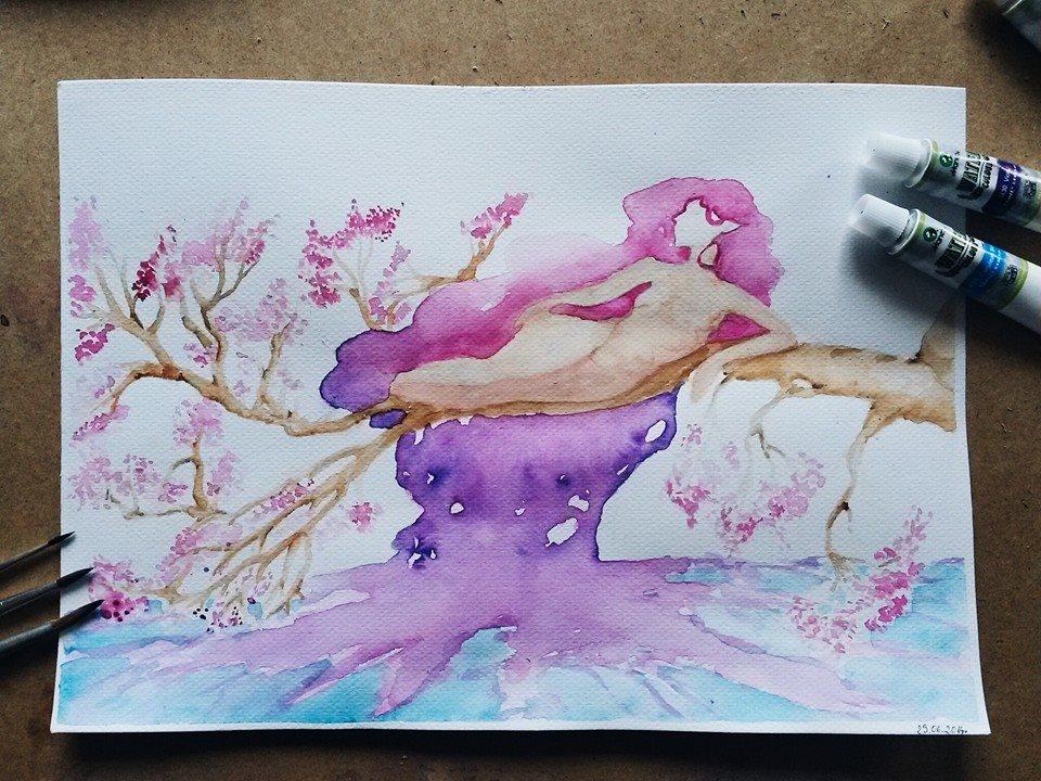 Fantazja, płynne przejścia koloru