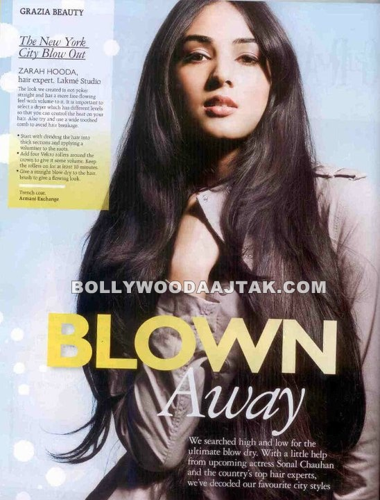 Sonal Chauhan Photoshoot for Grazia Magazine August 2011