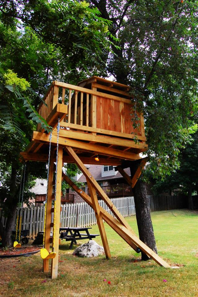 Natural State Treehouses Inc.: Alpe Family Treehouse