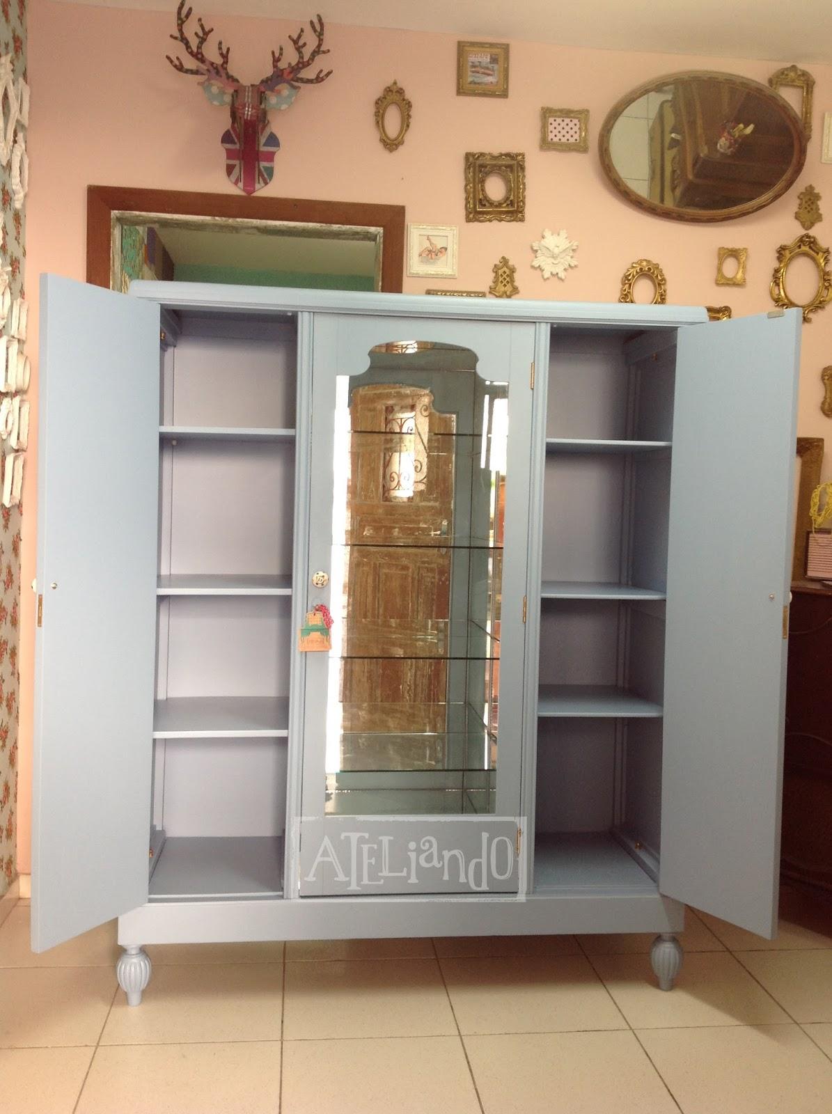 Ateliando Customização de móveis antigos: Era um guarda roupa bem  #9A6631 1195x1600