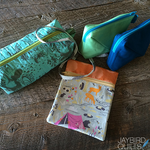 Gift Bag Sweet Pea Pod Treat Bag Lined Zipper Bag Zipper Pouch