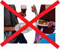 Bahaya Kesehatan, Makan dan Minum sambil Berdiri