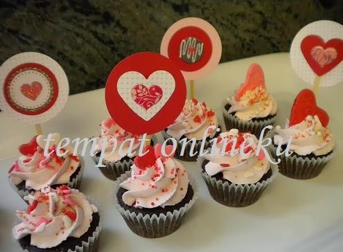 resep brownies cupcake valentine