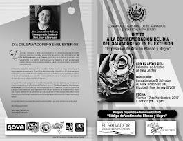 Folleto para el Consulado de El Salvador