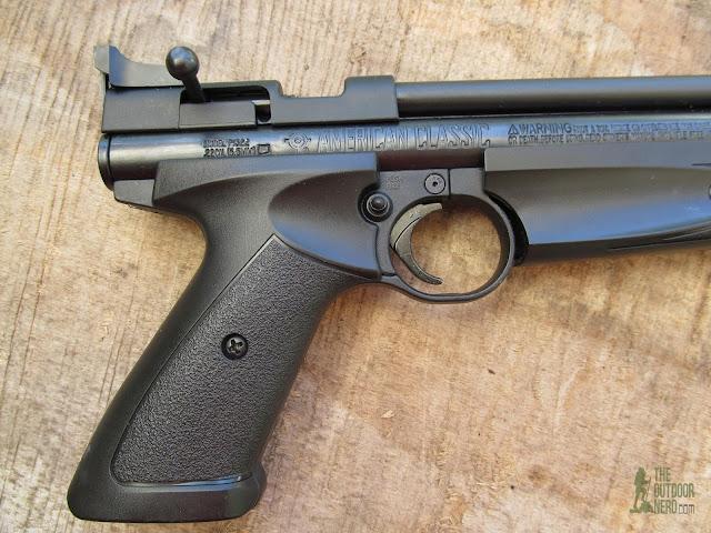 Crosman 1322 Air Pistol - Product View 3