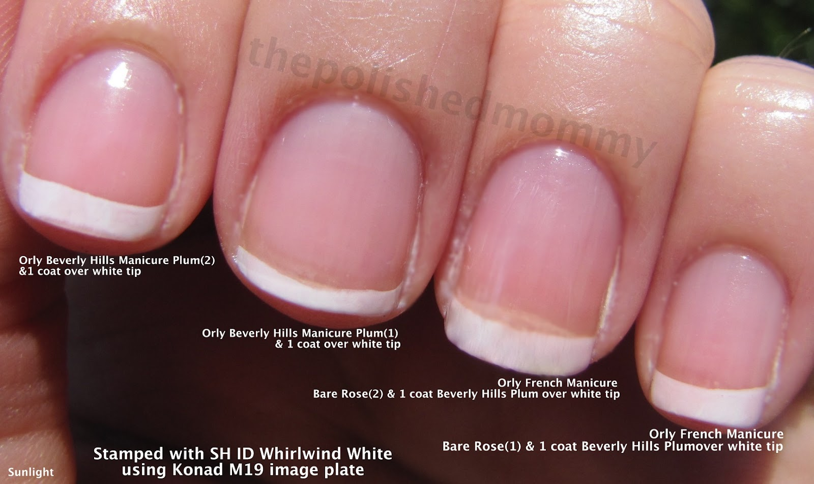 French Manicure - The Polished Mommy