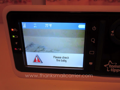 Tommee Tippee Video Sensor Pad Monitor review