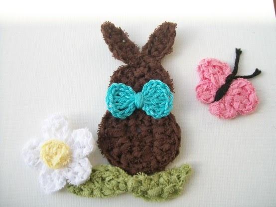 Crochet Flower Girl Basket Pattern : Flower girl cottage crochet bunny