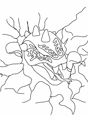 LEGO Ninjago Snakes Coloring Pages