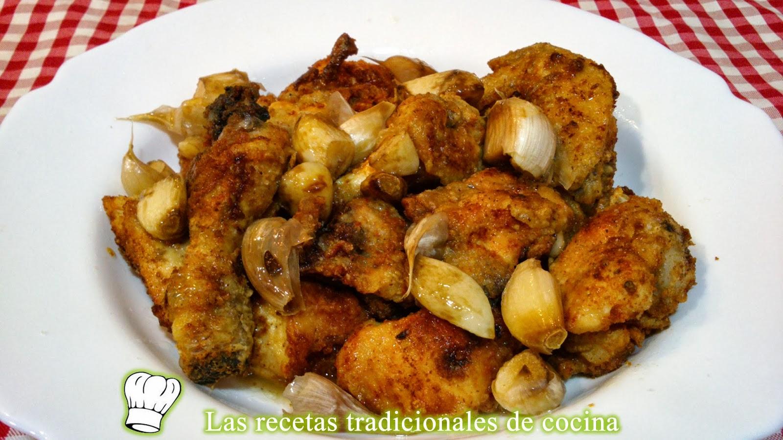 Receta f cil y r pida de pollo al ajo - Cocina rapida y facil ...