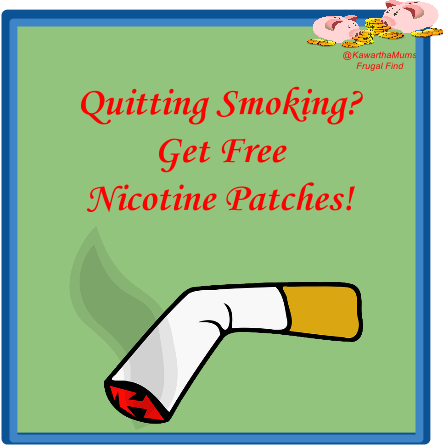 image Kawartha Lakes Smokers Get Free Nicotine Patches!