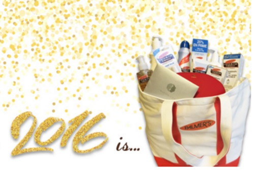 Palmer's Cocoa Butter 2016 New Year Giveaway