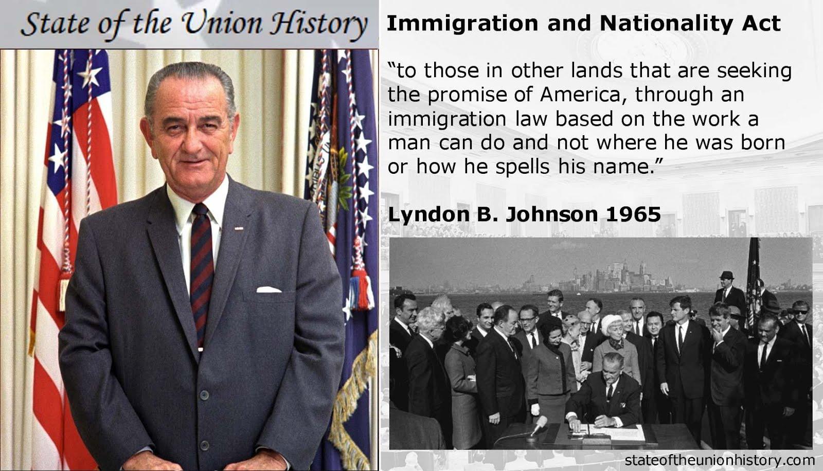 1965 Lyndon B Johnson