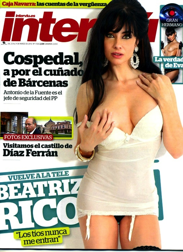 portada interviu sonia: