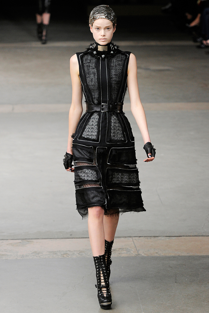 Alexander McQueen Fall/Winter 2011 accessories / ankle boots trend report