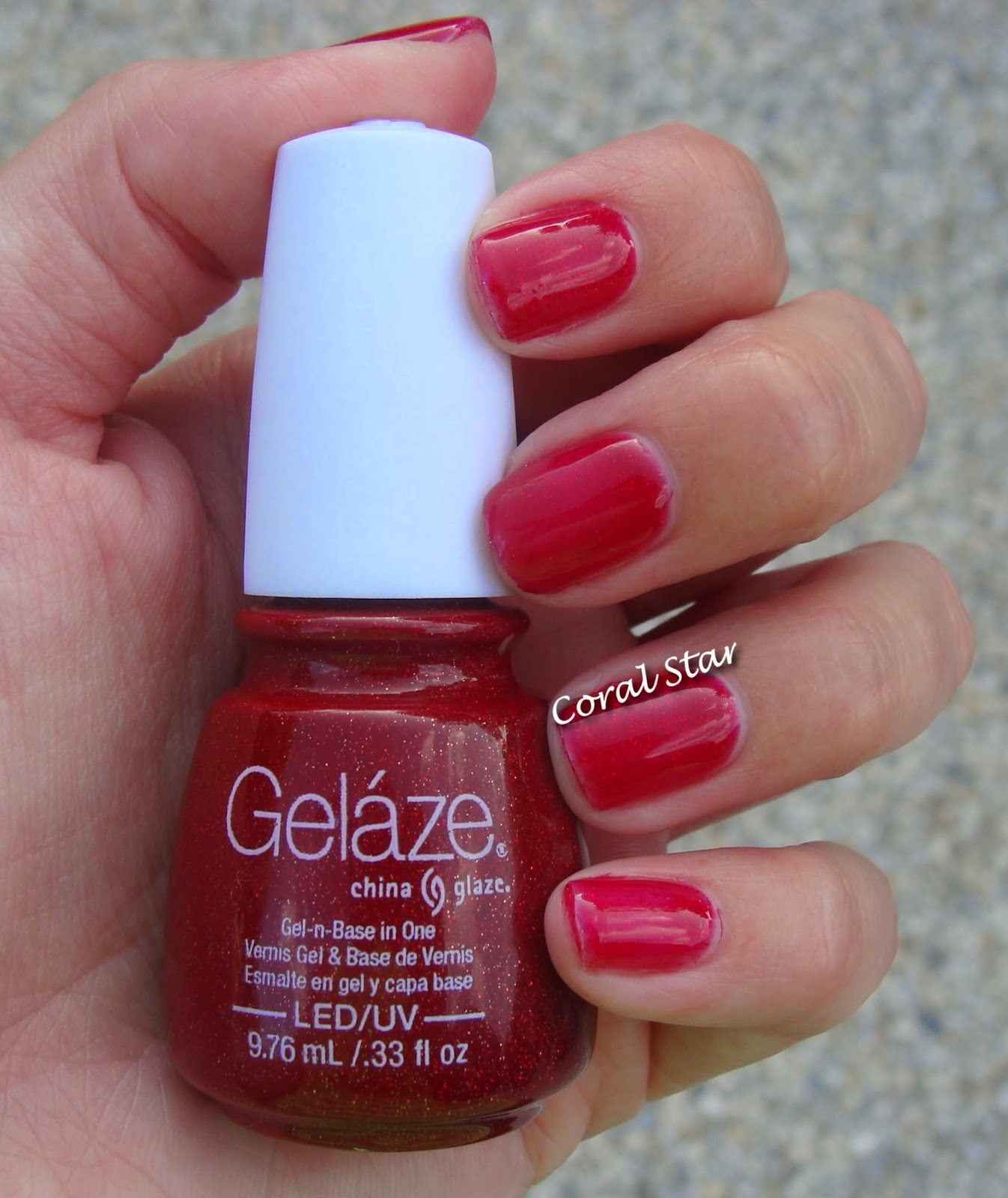 Coral Star: Nails of the Week: Ruby Pumps by Gelaze