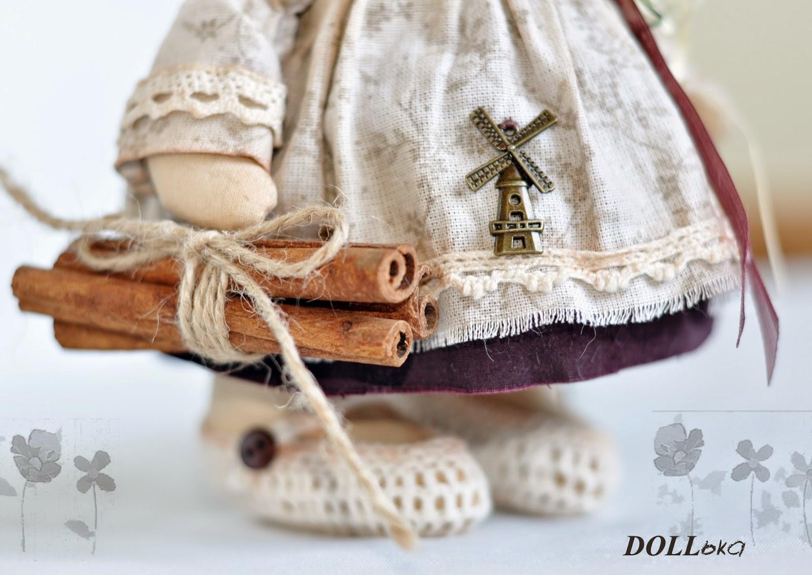 овечка текстильная
