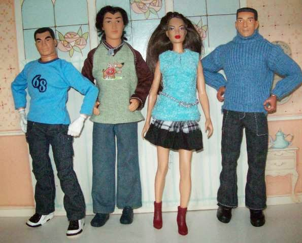 Asian/Asian American Dolls and action figures