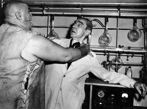 Bride of the Monster Starring Bela Lugosi and Tor Johnson
