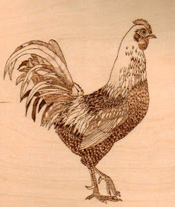 My Pyrography Website