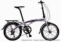 Sepeda Lipat Pacific PIP-20-2993 7 Speed + Rangka Aloi 20 Inci